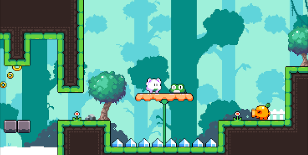 Screenshot 3: Bubble Tale - Bunny Quest