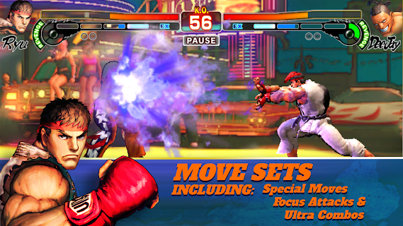 Screenshot 1: Street Fighter IV Champion Edition