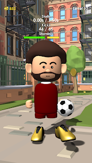 Screenshot 1: The Real Juggle - Pro Freestyle Soccer