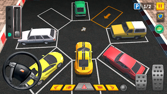 Screenshot 2: Car Parking 3D Pro